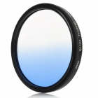 Optical Glass UV Camera Lens Filter - Graduated Blue (58mm)