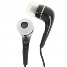 In-Ear Stereo Earphone with Microphone for iPhone 3G/3GS/4 - Black (3.5mm-Jack)