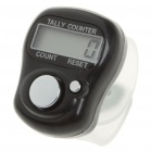 "0.8"" LCD Electronic Digital 5-Digit Ring Tally Counter (1 x AG10)"