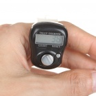 "0.8"" LCD Electronic Digital 5-Digit Ring Tally Counter (1 * AG10)"