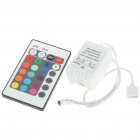 24-Key Remote Controller + Control Box for 5050 LED RGB Light Strip