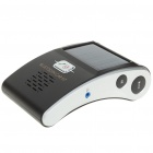 "2.6"" LCD Solar Bluetooth Car Kit MP3 Player with FM & TF Card Slot - Black"