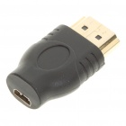 HDMI Male to Micro HDMI Female Adapter - Black