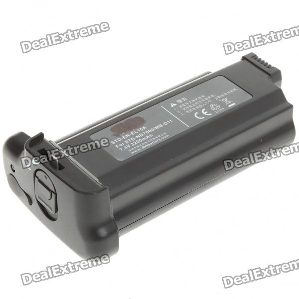 EN-EL15a 7.4V 3200mAh Battery Pack for Nikon MB-D11 / STD-ND7000 nikon mb d11 replacement battery grip for nikon d7000 black