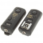FSK 2.4GHz Wireless Flash Trigger for Nikon DSLR D90/D5000 (2xAAA + 2xAAA)