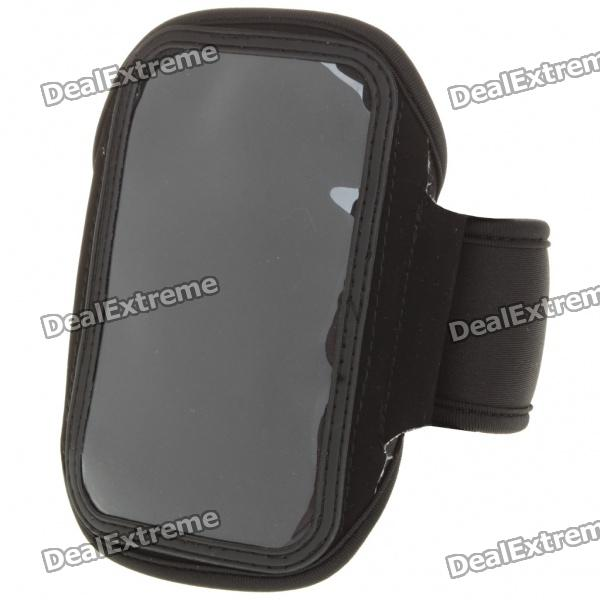 Sporty Armband for Samsung i9000/i9020 - Black