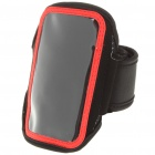 Sporty Armband for Samsung i9000/i9020 - Black + Red