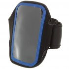 Sporty Armband for Samsung i9000/i9020 - Black + Blue