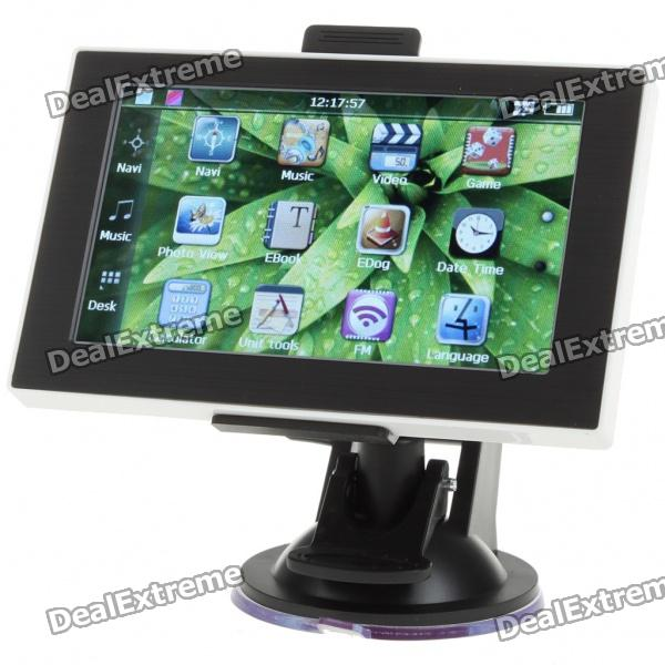 "4.3"" Touch Screen LCD WinCE 6.0 GPS Navigator w/ FM + Internal 4GB USA/Canada/Mexico Maps"