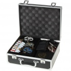Professional 3-Gun Tattoo Machine Complete Kit Set with Carrying Case