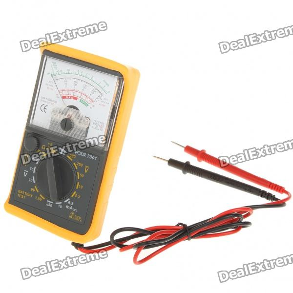 VICTOR 7001 Mini Handheld Analogue Multimeter (1 x 1.5V)