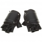 Military Tactical Half Finger Gloves with Hard Plastic Pad (Size-L)
