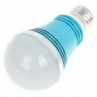 E27 5W 430-Lumen 6000-6500K White LED Light Bulb - Blue (85~245V)