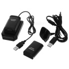 5-in-1 Charging Kit for Xbox 360 Slim - Black