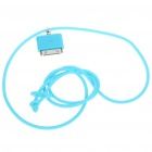 Fashion Neck Strap Connector for iPod/iPhone - Blue (42CM-Length)