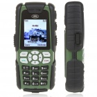 "Land Rover S8 1,8 ""LCD-Triband-Handy GSM w / Torch / FM / TF - Dark Green"