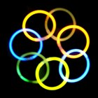 Super Mega Glowsticks (Assorted 50-Pack)
