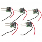 3W 3-LED Power Drivers for MR16 Lamp Light (12V / 5-Pack)