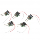 9W 3-LED Power Drivers for MR16 Lamp Light (12V / 5-Pack)