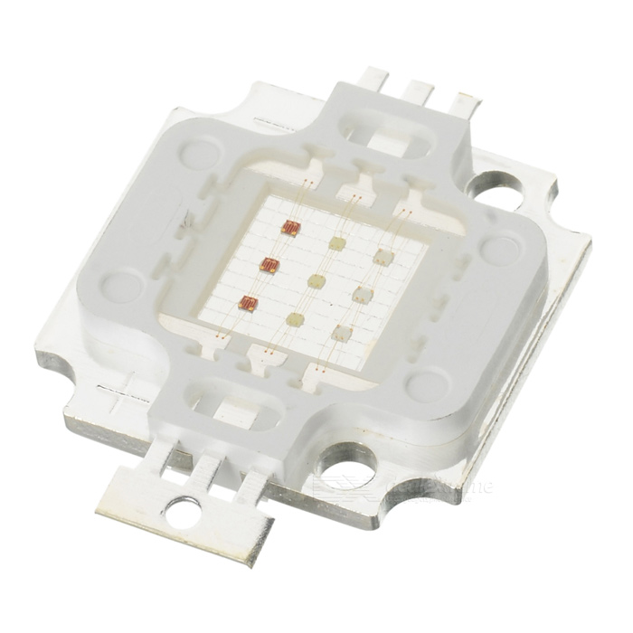 10W 450LM RGB colorido LED emissor placa de metal