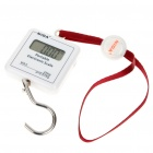 "1.25"" LCD Portable Digital Weighting Hook Scale - 25kg/0.01kg (1 x CR2032)"