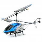 C7 3.5-CH R/C Gyroscope Helicopter with 300 KP Lens Spy Camera - Blue (1GB TF/IR Remote/6 x AA)
