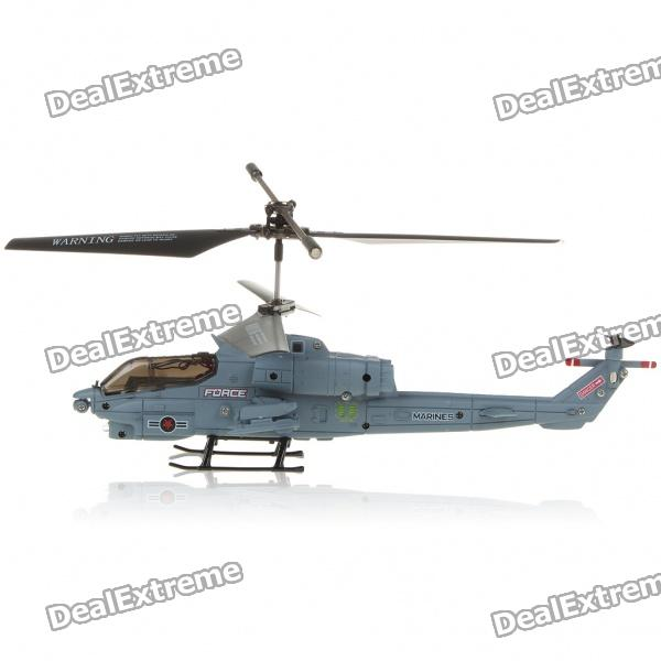 S108G Rechargeable 3-CH R/C Helicopter w/ Gyroscope - Black + Grey (IR Remote/6 x AA) r b parker s the devil wins