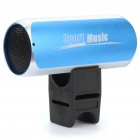Stylish USB Rechargeable Sports Hi-Fi MP3 Player Speaker w/ FM/TF/3.5mm Audio Jack - Blue