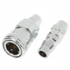 Male + Female Air Hose Connector Fittings Set
