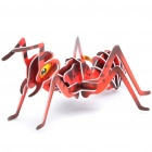 Intellectual Development DIY 3D Paper Puzzle Set - Insect (Random Style)