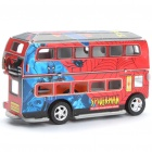 Intellectual Development DIY 3D Paper Puzzle Set - Double-Decker Bus (Random Color)