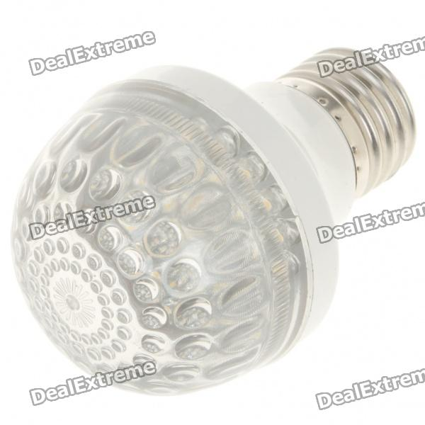 E27 2.5W 3500K 260-Lumen 38-LED Warm White Light Bulb (AC 85~245V) e27 3w 3 led 260 lumen 3500k warm white light bulb ac 85 245v