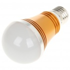 E27 5W 6500K 430-Lumen 5-LED White Light Bulb (AC 85~245V)