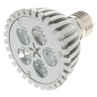 E27 5W 3500K 430-Lumen 5-LED Warm White Light Bulb (AC 85~245V)