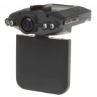 "2.5"" TFT Car DVR Camcorder with 4-LED Night Vision/Recording/USB/SD Slot"
