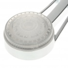 Stylish 15-LED RGB Light Water Temperature Sensor Shower Head - Silver