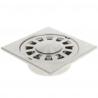 Stainless Steel Floor Drain Filter for Bathroom/Kitchen - Silver