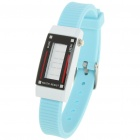 Fashion Sports Anion Silikon wasserdicht Digitale Armbanduhr - Light Blue (1 x AG1)
