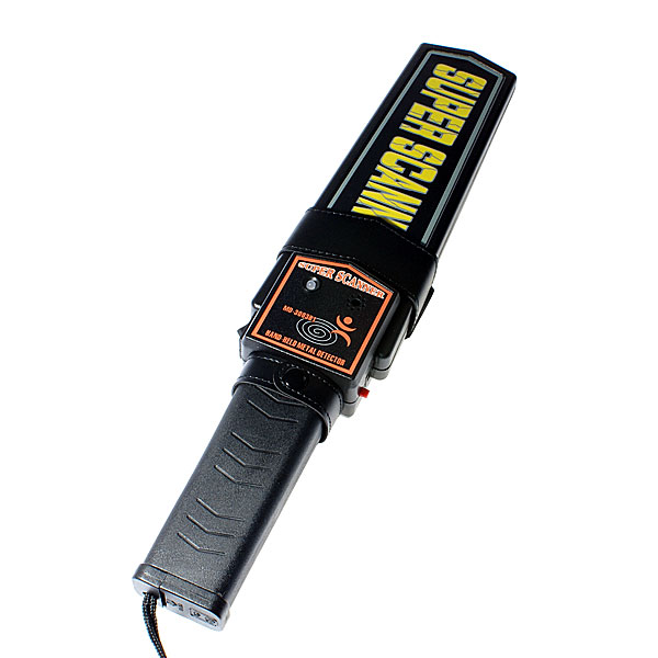 Handheld Metal Detector with Adjustable Sensitivity and Vibration Alert (MD-3003B1)
