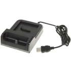 USB Battery Charging Cradle + Cell Phone Charging Docking Station + Power Adapter for Samsung i9100