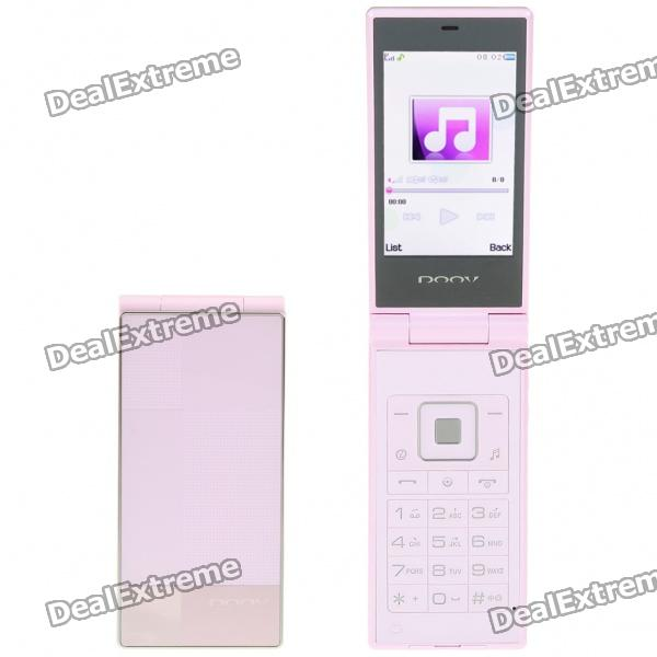 "DOOV S920 3.0"" LCD Dual-Band GSM Cell Phone w/ Java/TF - Pink"