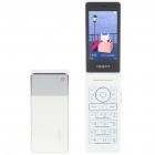 "OPPO U525 3.2"" LCD Dual-Band GSM Cell Phone w/ Java/TF - White"