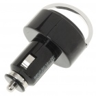 Dual USB Car Cigarette Lighter Power Adapter + 3.5mm Earphone for iPhone 4 / iPad 2