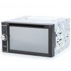 "6.2"" LCD Touch Screen Universal Car DVD Media Player w/ Bluetooth/FM/USB/SD"