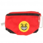 Cute Mini Briefs Shaped Cloth Coin Purse - Red