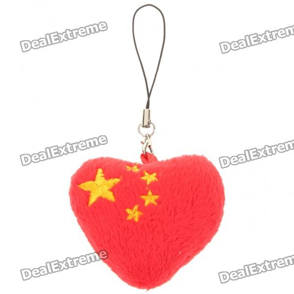 China Heart Style Cellphone Strap naughty cell phone charm strap with 1 hidden condom mr p style assorted