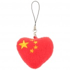 China Heart Style Cellphone Strap
