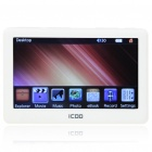 "ICOO K11 4.3"" TFT LCD AVI/MP4 Portable Media Player w/ TV-Out/TF Slot - White (4GB)"