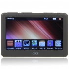 "ICOO K11 4.3"" TFT LCD AVI/MP4 Portable Media Player w/ TV-Out/TF Slot - Black (4GB)"
