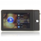 "Benss X630 3"" TFT LCD AVI/RMVB Portable Media Player w/ FM/TF Slot - Black (4GB)"